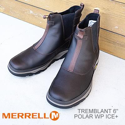 【あす楽対応】メレル MERRELL トレンブラント 6 ポーラー ウォータープルーフ アイスプラス TREMBLANT 6 POLAR WATERPROOF ICE+ エスプレッソ ESPRESSO 防水 ブーツ 靴 シューズ