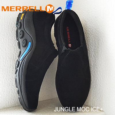 monia tyylejä super halpa jaloissa メレルジャングルモックアイスプラスブラック MERRELL JUNGLE MOC ICE+ BLACK shoes sneakers shoes  slip-on
