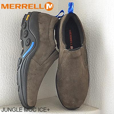 yksinoikeudella laatu fantastinen säästö メレルジャングルモックアイスプラスガンスモーク MERRELL JUNGLE MOC ICE+ GUNSMOKE shoes sneakers  shoes slip-on