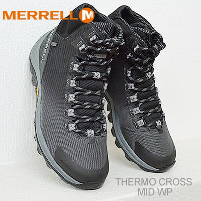 【あす楽対応】メレル サーモ クロスオーバー ミッド ウォータープルーフ ミッドナイト MERRELL THERMO CROSSOVER MID WATERPROOF MIDNIGHT 防水 靴 スニーカー シューズ