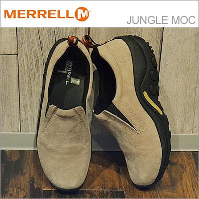 MERRELL メレル JUNGLE MOC ジャングルモック TAUPE トープ 【60801/60802】 靴 スニーカー スリップオン スリッポン シューズ