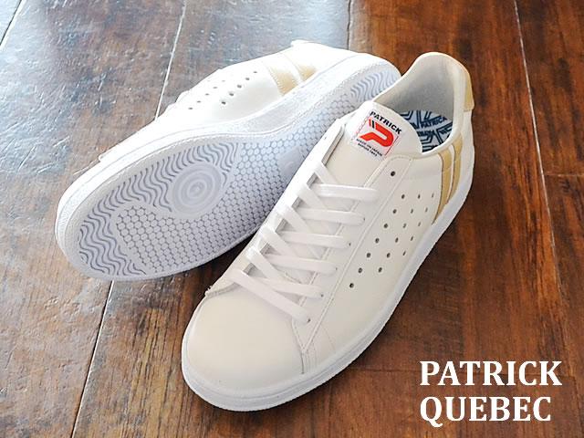 【返品無料対応】 PATRICK パトリック QUEBEC ケベック NAT ナチュラル 靴 スニーカー シューズ【あす楽対応】