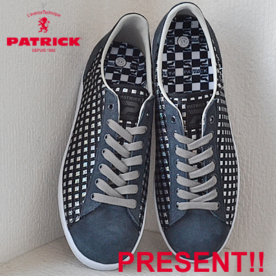 【返品無料対応】【あす楽対応】 PATRICK パトリック EPINAL エピーナル GRY グレー 靴 スニーカー シューズ