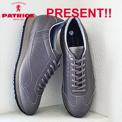 【返品無料対応】 PATRICK パトリック TINKER-WP ティンカー・ウォータープルーフ GRY グレイ 靴 スニーカー シューズ 【smtb-TD】【saitama】 【あす楽対応】
