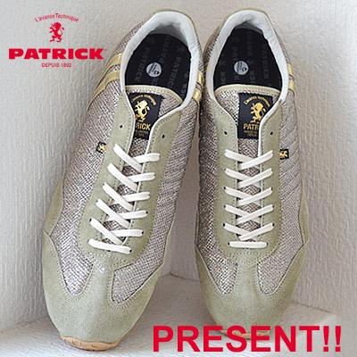 【返品無料対応】【あす楽対応】 PATRICK パトリック MM-STADIUM メタリックメッシュ・スタジアム GLD ゴールド 靴 スニーカー シューズ 【smtb-TD】【saitama】