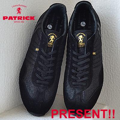 【返品無料対応】【あす楽対応】 PATRICK パトリック MM-STADIUM メタリックメッシュ・スタジアム BLK ブラック 靴 スニーカー シューズ 【smtb-TD】【saitama】
