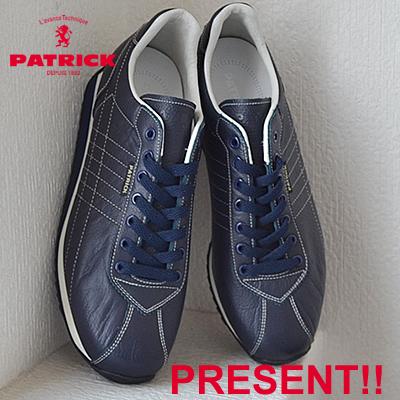 【あす楽対応】【返品無料対応】 PATRICK パトリック SANGER サンガー NVY ネイビー 靴 スニーカー シューズ 【smtb-TD】【saitama】