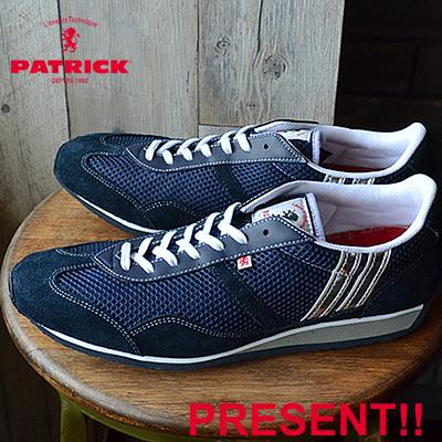 【あす楽対応【返品送料無料】】PATRICK パトリック C-STADIUM クール・スタジアム ネイビー 靴 スニーカー シューズ