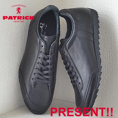 【あす楽対応】【返品無料対応】PATRICK パトリック CATANIA-WP カターニャ・ウォータープルーフ BLK ブラック