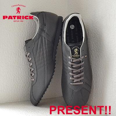 【返品無料対応】【あす楽対応】 PATRICK パトリック SULLY-LN シュリー・リモンタナイロン GRY グレー 靴 スニーカー シューズ