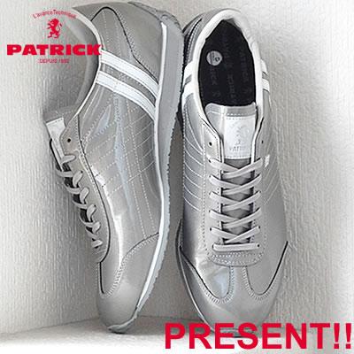 【あす楽対応】【返品無料対応】 PATRICK パトリック PAMIR-DK パミール ダーク SLV シルバー 靴 スニーカー シューズ 【smtb-TD】【saitama】