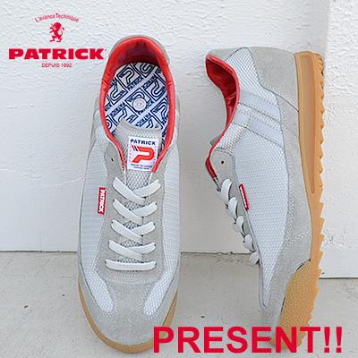 【返品無料対応】 【あす楽対応】PATRICK パトリック BRONX ブロンクス SLV シルバー 靴 スニーカー シューズ 【smtb-TD】【saitama】
