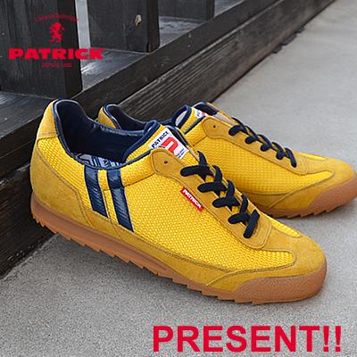 【返品無料対応】 【あす楽対応】PATRICK パトリック BRONX ブロンクス YLW イエロー 靴 スニーカー シューズ 【smtb-TD】【saitama】