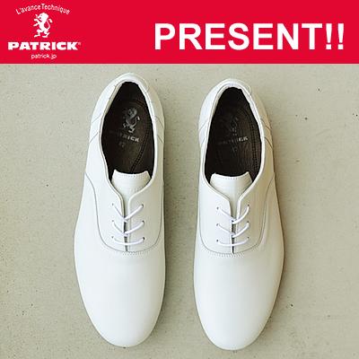 【返品無料対応】 PATRICK パトリック VALLETTA II バレッタ2 WHT ホワイト 靴 スニーカー シューズ フォーマル ビジネス 【あす楽対応】【smtb-TD】【saitama】