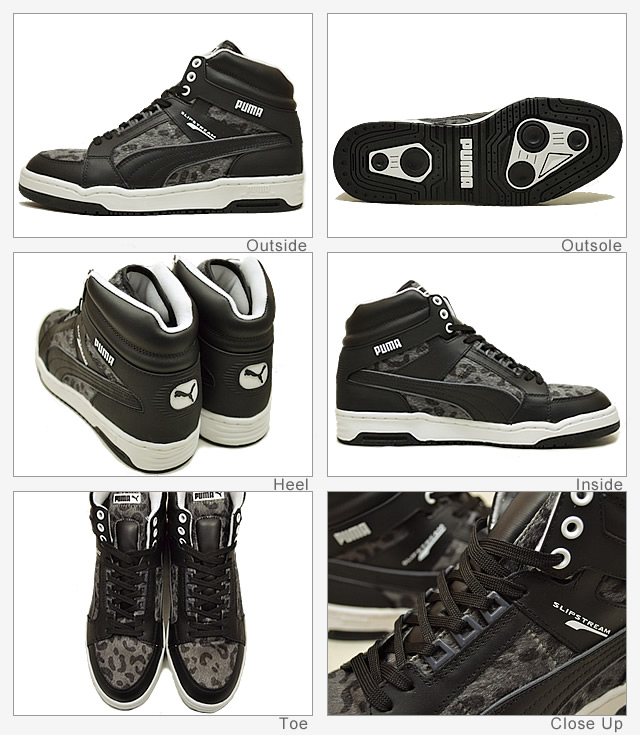 PUMA (푸 마) PUMA SLIP STREAM ANML (푸 마 슬립 동물) 블랙/다크 섀도 [신발/운동 화/신발]