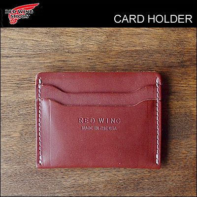 RED WING レッドウィング カードホルダー CARD HOLDER オロラセット フロンティア レザー ORO RUSSET FRONTIER LEATHER 革小物 カード入れ