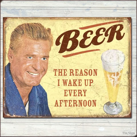 Tin Sign Billboard Ephemera Beer Change Wood American Goods Advertising And Posters Flyer Wall Decorations Display