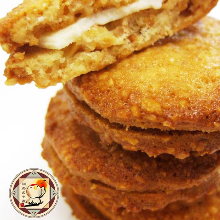 アーモンドクッキー ホワイトクッキー 長谷製菓 蔵 プレゼント 丹頂鶴の詩 27枚入 ギフト お菓子 北海道お土産