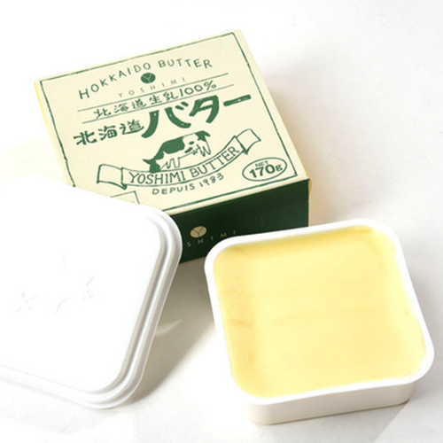 スープカレーでおなじみのヨシミ監修小林牧場の牛乳を使ったクリーミーな限定生産のバターです 大放出セール オリジナル 勝山ヨシミシェフ監修 冷 ヨシミ北海道バター