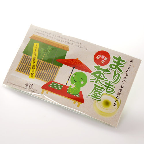 【割引送料込】まりも茶屋(昆布茶) 6包入り×10個セットお茶の中にマリモが浮きます【北海道限定】【プレゼント おみやげ 粗品 お土産 プチギフト 景品 北海道】