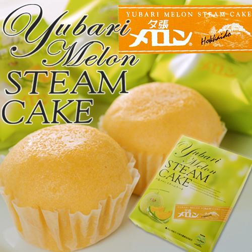 夕张甜瓜蒸汽蛋糕 (蒸蛋糕) 12 件。