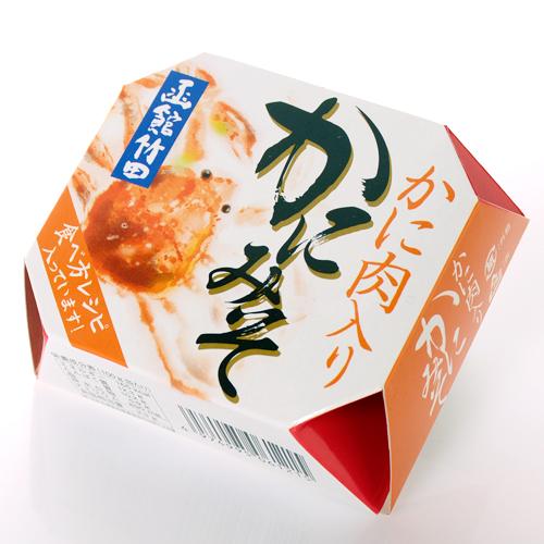 It is miso in entering crabmeat