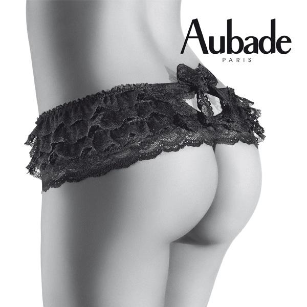 オーバドゥ AUBADE Boite a Desirシリーズフリルタンガ