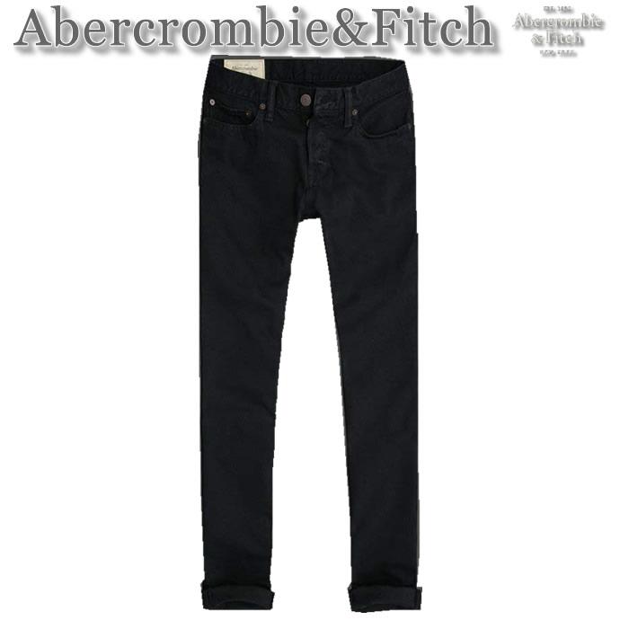 【送料無料】アバクロ Abercrombie&Fitch【MENS】A&F Skinny Jeans スキニージーンズ/Dark Navy【あす楽対応】