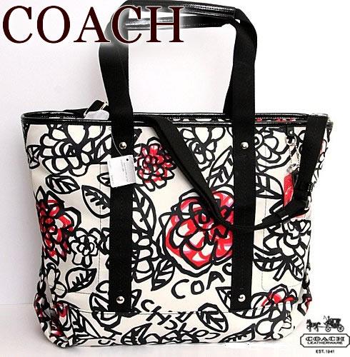 【送料無料】コーチ COACH【正規品】デイジー グラフィティ 2way トートバッグ【F16914】ホワイト【あす楽対応】
