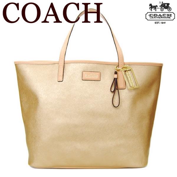 【送料無料】コーチ COACH【正規品】コーチ パーカー メトロ レザー バッグ トートバッグ【24341】ゴールド【あす楽対応】