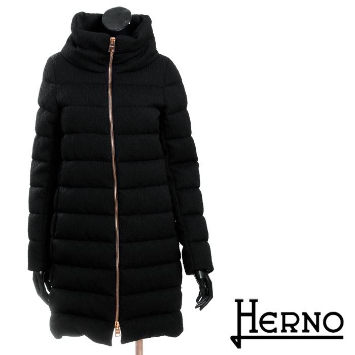 送料無料 HERNO ヘルノ ダウンコート 超軽量ダウンジャケット シンプルな無地 防寒バッチリ [3108]【4800円以上送料無料】