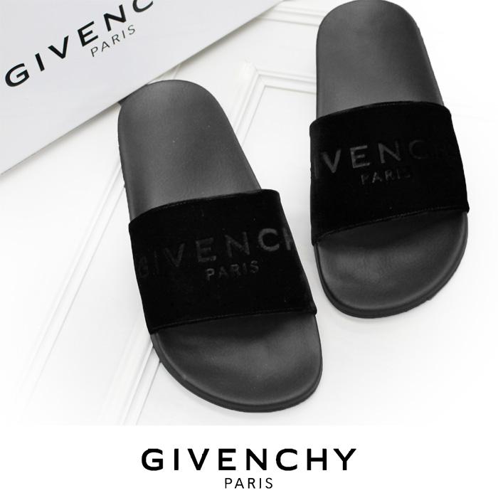 【送料無料】【GIVENCHY】ジバンシィ/Logo Mens Slides/サンダル/メンズサンダル/シューズ/靴/シンプルなフラットサンダル/デイリーにオススメ/シャワーサンダル/BM08070818[3126]【4800円以上送料無料】