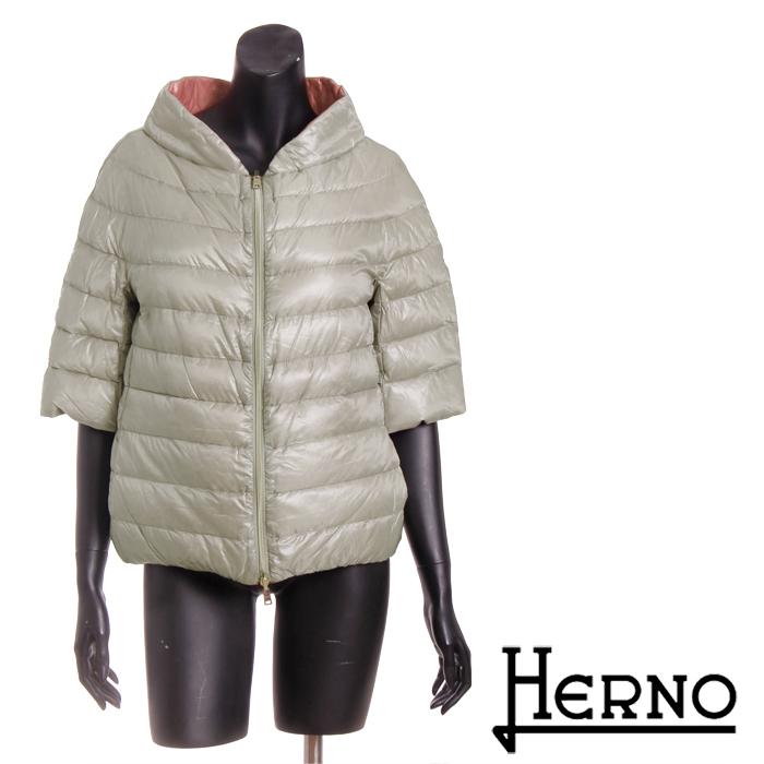 送料無料 HERNO ヘルノ 2way リバーシブルキルティングジャケット 超軽量なのにしっかり防寒 着心地バツグン 便利なリバーシブル PI0265D 12017 [4123]【4800円以上送料無料】