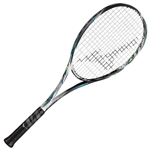 ミズノ スカッド05C ソリッドブラック×オーシャンターコイズ ソフトテニスラケット MIZUNO SCUD05-C 63JTN056-24