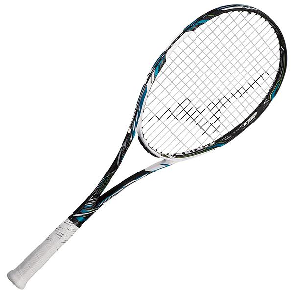 ミズノ ディオス10C ソリッドブラック×メタルアクア ソフトテニスラケット MIZUNO DIOS10-C 63JTN064-27