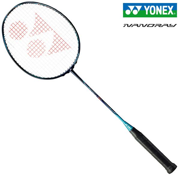 YONEX NANORAY GlanZ ヨネックス ナノレイグランツ ネイビー/ターコイズ [NR-GZ-390] バドミントンラケット