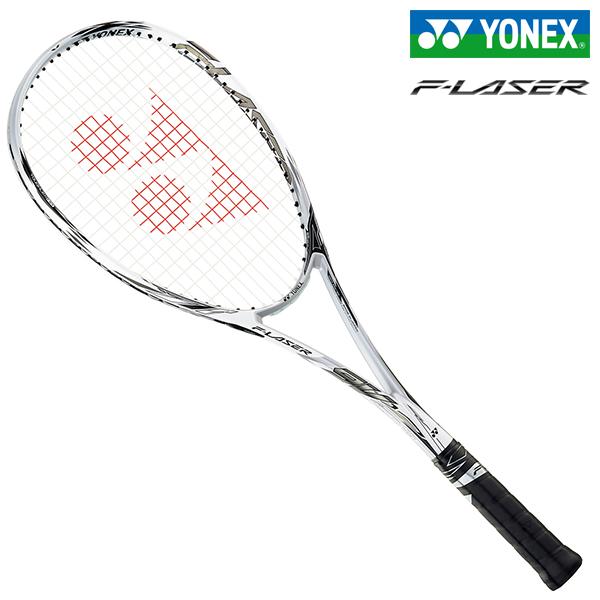 ヨネックス ソフトテニスラケット エフレーザー9V プラウドホワイト YONEX F-LASER 9V FLR9V-719