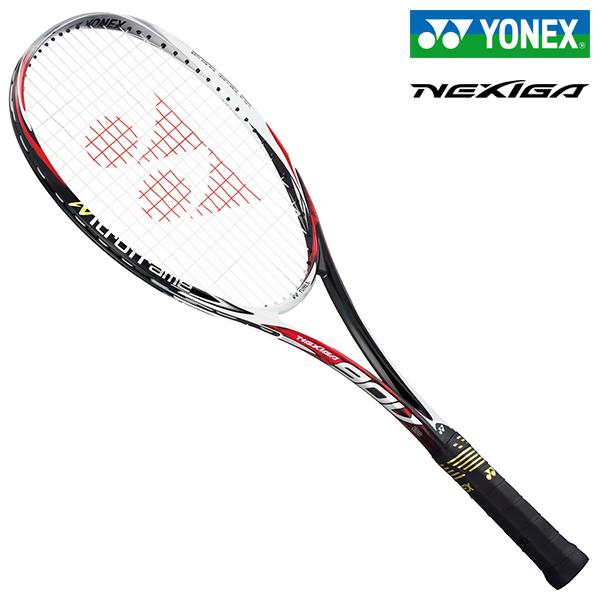 ヨネックス ネクシーガ90V ジャパンレッド ソフトテニスラケット YONEX NEXIGA 90V NXG90V-364
