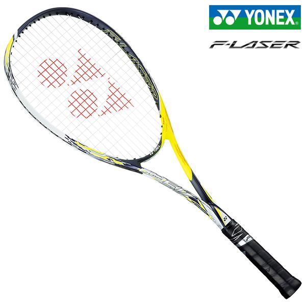 5V ヨネックス ソフトテニスラケット 前衛 レーザーイエロー YONEX F-LASER エフレーザー5V FLR5V-711
