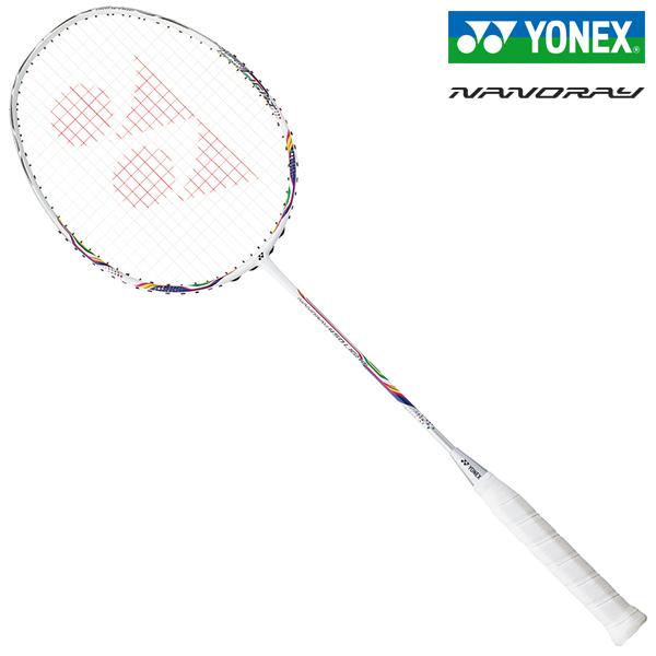 ヨネックス バドミントンラケット ナノレイ450ライト ホワイト/ネイビー YONEX NANORAY 450 LIGHT NR450LT-100
