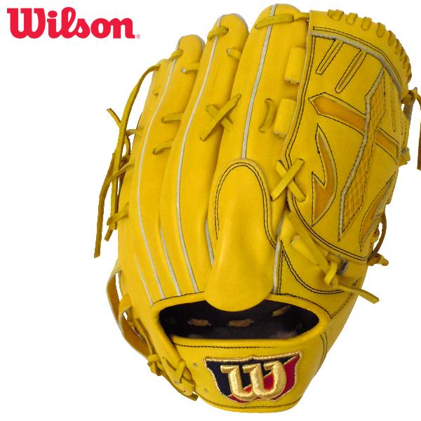 ウィルソン 限定品 硬式用グラブ ウィルソンスタッフ 投手用 右投げ ライム Wilson Staff WTAHWD1WM-32