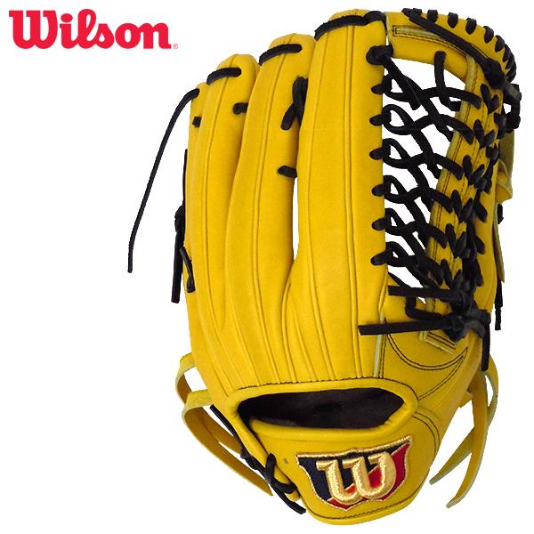ウィルソン 限定 硬式用 ウィルソン スタッフ 外野手用グラブ 右投げ ライム Wilson Staff WTAHWDD8F-32