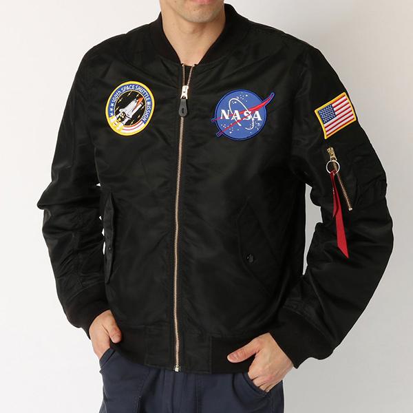 アルファインダストリーズ L-2B NASA ブラック ALPHA INDUSTRIES TA0135-201