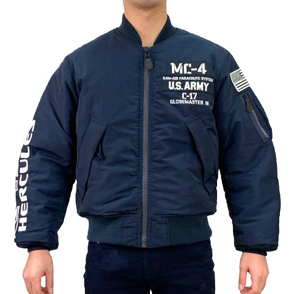 アヴィレックス タイプMA-1 ミリタリーフリーフォール AVIREX TYPE MA-1 MFF(Military free fall) NAVY 6192165-87