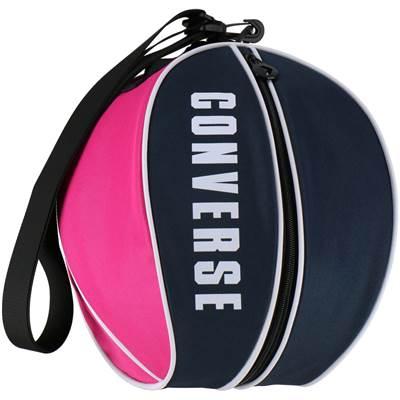 コンバース 0Sボールケース 国内正規品 1個入れ バスケットボールバッグ C1951097-2961 CONVERSE 送料無料新品 ネイビー×ピンク