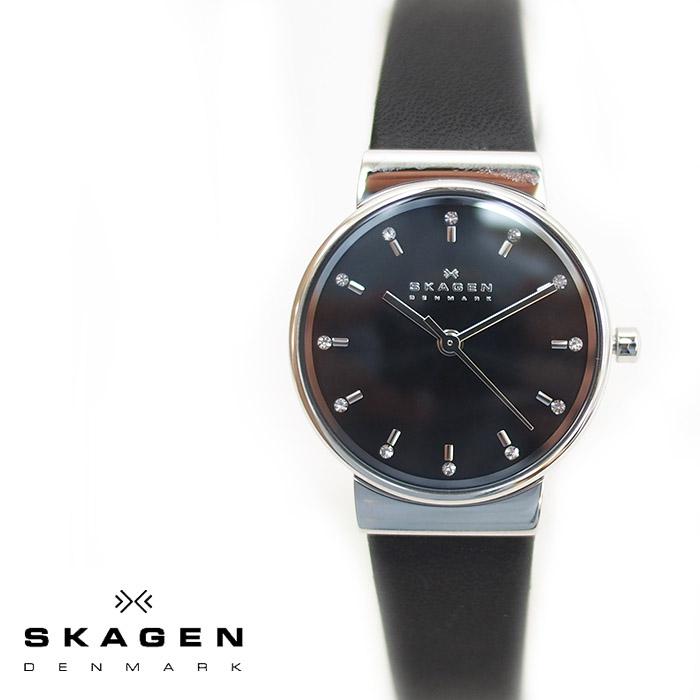 SKAGEN スカーゲン ANCER アンカー レディース 腕時計 26mm ブラック SKW2193  スカーゲン 腕時計 レディース