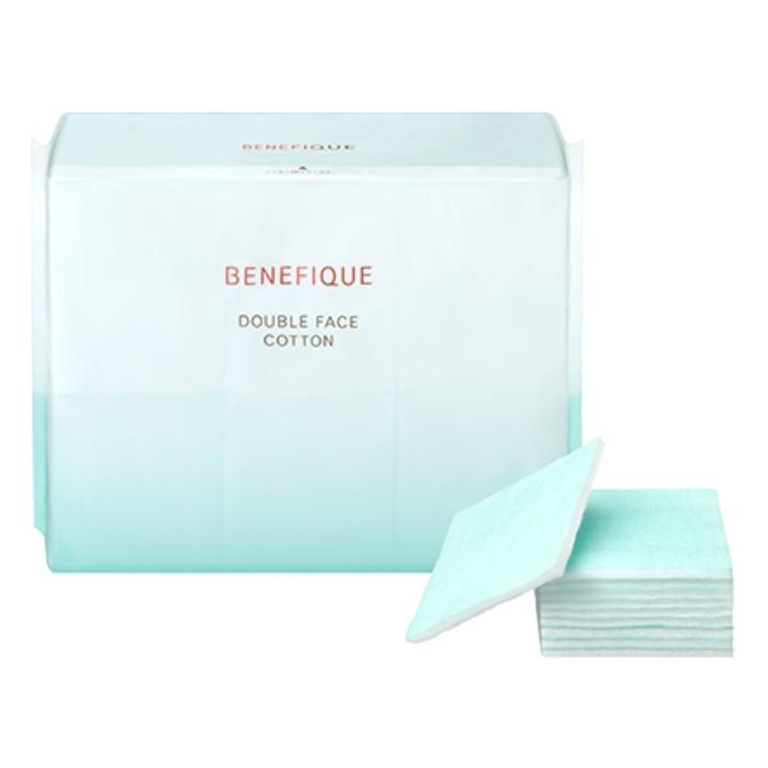 肌に不要なものを拭き取り2つの機能を持つコットン BENEFIQUE メーカー公式ショップ 日本 ベネフィーク ダブルフェイスコットンN 180枚入 資生堂