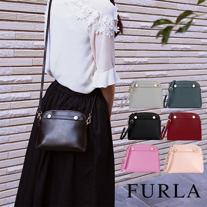 FURLA フルラ ショルダーバッグ 全6色 PIPER パイパー ミニクロスボディ ポシェット
