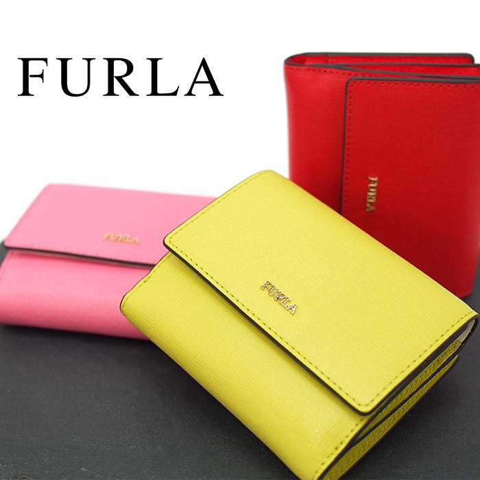 FURLA フルラ 三つ折財布 BABYLON S 全3色 フルラ バビロン フルラ 財布 ミニ財布 レディース PZ57 B30