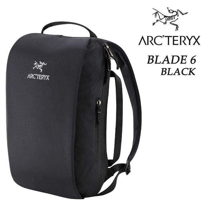 ARC'TERYX アークテリクス Blade 6 ブレード 6L 16180 リュックサック バックパック BACKPACK ブラック アークテリクス リュック